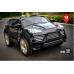 Детский электромобиль Electric Toys Porsche Cayenne Turbo Lux мягкие кол. кожанное сидение ,цвет черный