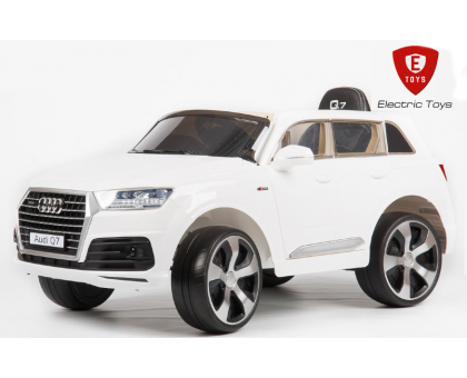Детский электромобиль ElectricToys AUDI Q7 quattro LUX (Лицензия) - белый